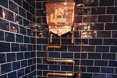 Copper Cistern