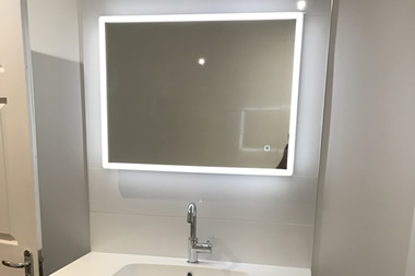 Modern Mirror with LED's
