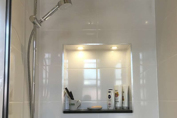 Modern Mirror With Led S D Howard Plumbing Plumber